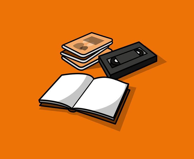 Jede Menge Bücher, alle Genre