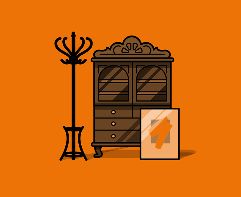 rustikal Wohnzimmerlampe